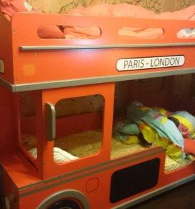 Кровать 2-х ярусная из магазина HOFF