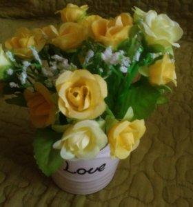 """Цветовая композиция """"Цветы с любовью"""""""