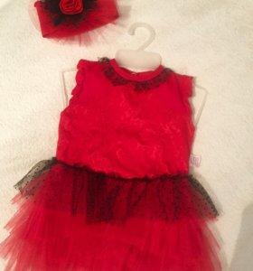 Продам боди-платье+ повязка