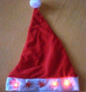 Колпак Санта Клауса светящийся