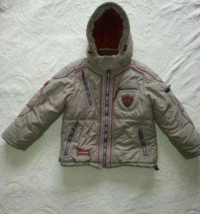 Зимняя куртка для мальчика,фирма Кико