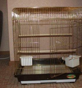 Клетка для среднего попугая