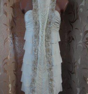 Платья с бисером и бахромой