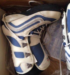 Ботинки женские для сноуборда