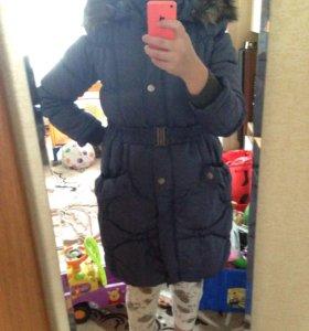 Зимняя куртка для беременных 46р