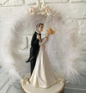 """Свадебная фигурка """" жених-невеста"""""""
