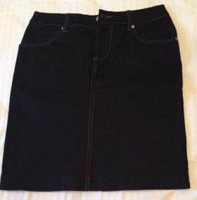 Юбка карандаш из джинсы как новая