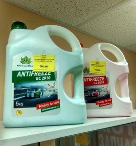 Антифриз G11 и G12, 5 литров