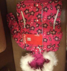Куртка для девочки  (новая)р104,р92