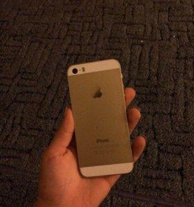 iPhone 5s, 16gb, gold, original, полный комплект