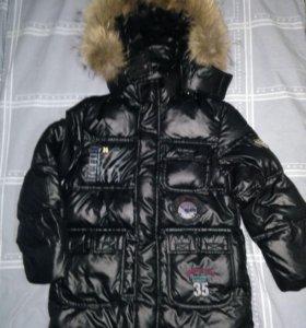 Новая куртка.зима