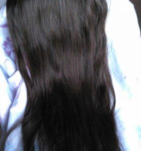 Пряди натуральных волос