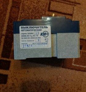 Автоматические выключатели ва88-33