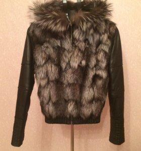Куртка-жилет. Натуральная