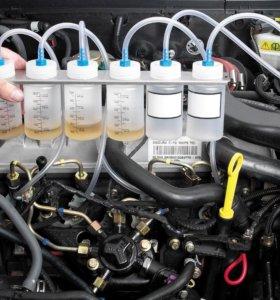 Диагностика дизельных двигателей с Common Rail