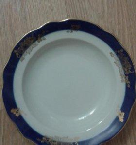 Тарелки суповые 6 штук