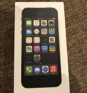 Коробка iPhone 5s 32 gb оригинал