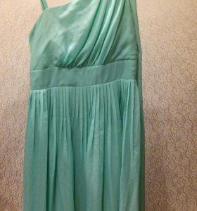 Мятное платье+подарок