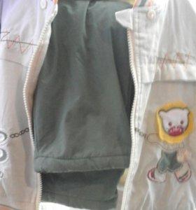 Куртка и штаны на флисе