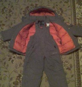 Зимний костюм 4-5лет