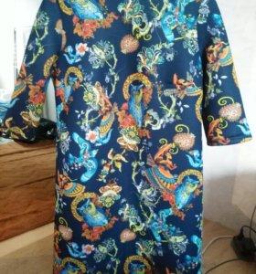 Платье совы р-р 52
