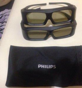 3д очки филипс XpanD