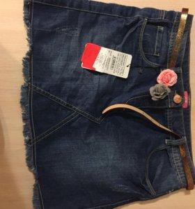 Юбка джинсовая для девочки 14 лет