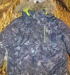 Куртка зимняя рост152