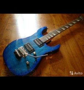 Электрогитара Jackson DX10D emeral blue