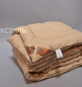 "Одеяло зимнее ""микрофибра-шерсть"""