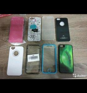 iPhone 5/5s белый чехол надпись
