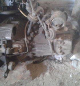Двигатель с коробкой 4s