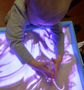 Стол-планшет для рисования песком