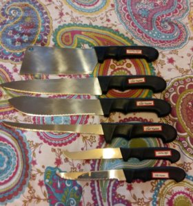 Набор из 6 ножей Chef Master