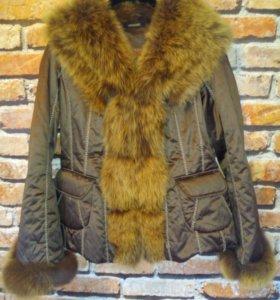 Куртка с мехом APANAGE