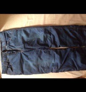 Утеплённые штаны под джинсы
