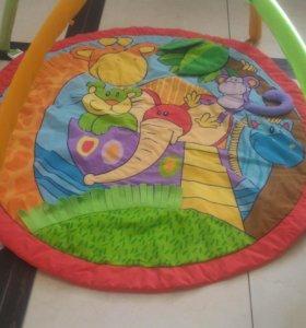 Развивающий коврик Джунгли