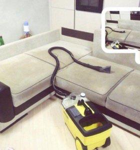 ✔️ Чистка химическая ковров и мягкой мебели.