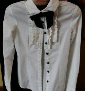 Блузка школьная 122 134