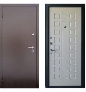 Двери входные 131 беленый