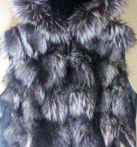 Очень стильная, тёплая куртка трансформер.