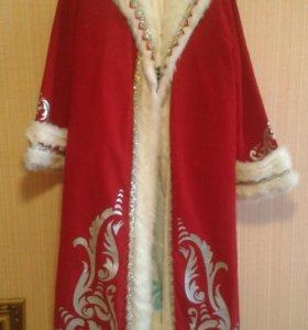 Костюм новогодний Деда мороза