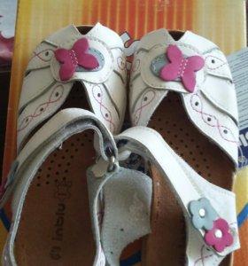 Новые сандали р.28