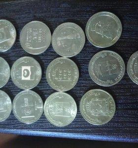 Набор из 13 монет