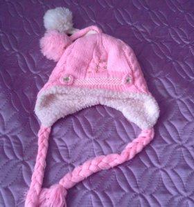 Детская шапка на девочку