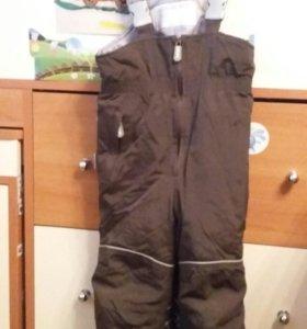 Полукомбинезон зимний штаны 92  Kerry