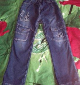 Теплые на зиму джинсы