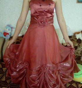Вечерное платье.