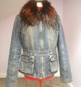 Куртка утепленная джинсовая