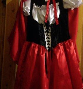 Продам костюм красной шапочки , размер42-44